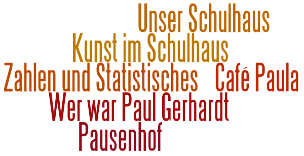 wordle Schulhaus